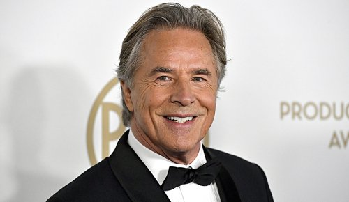'Miami Vice' star Don Johnson shares pinup picture of wife Kelley Phleger during Greece getaway: 'Excuse me'