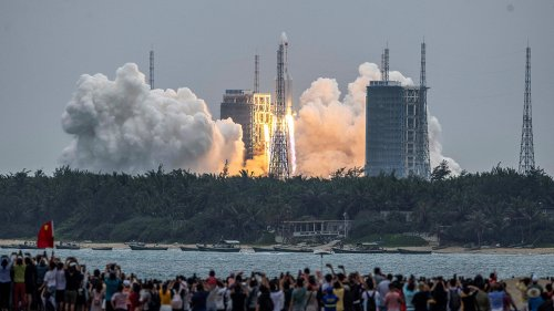 Chinese rocket to make uncontrolled reentry; unclear where debris will hit: report
