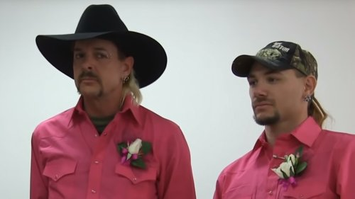 Joe Exotic's ex-husband John Finlay claims marriage 'fake,' now he has a wife