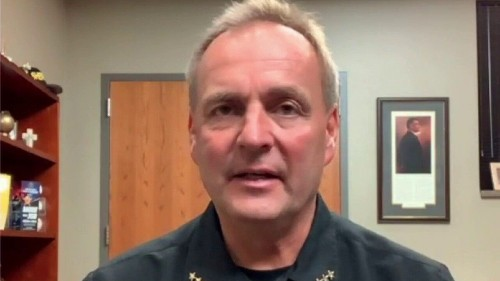 Kenosha County Sheriff explains why he is endorsing President Trump