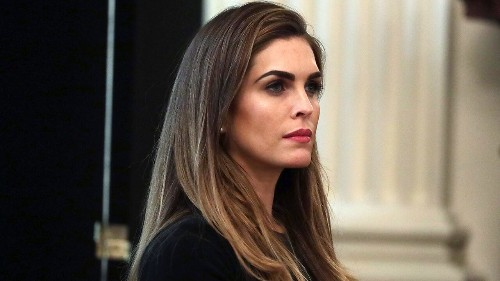 Hope Hicks no longer working at White House