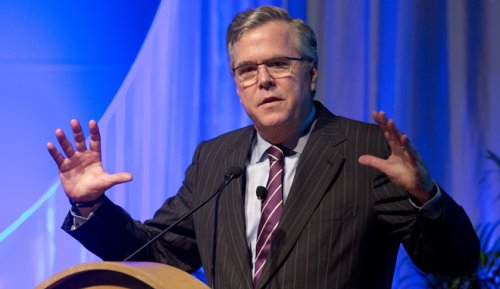One-time presidential hopeful Jeb Bush says 'hyper focus on DC politics is wrong'