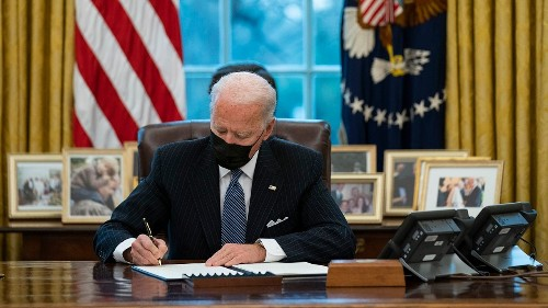 Biden's Executive Orders & Actions Since Becoming President