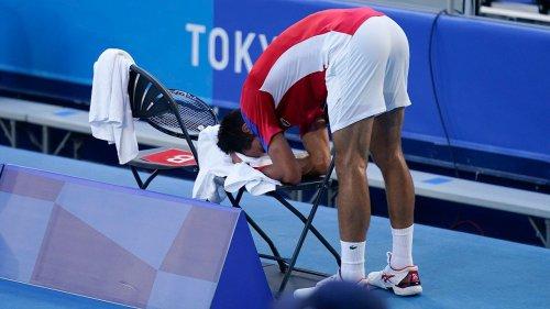 Novak Djokovic leaves Olympics empty-handed after bronze medal match meltdown