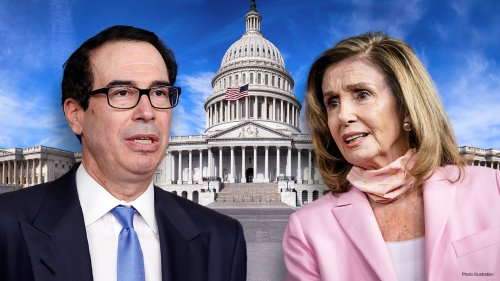 Mnuchin says he spoke with Pelosi, offered bigger pricetag than bipartisan $908B relief bipartisan package