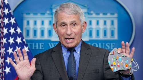Fauci comment on outdoor masks shift from previous remarks, says CDC waiting for 'data' that 'backs it up'