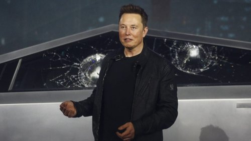 Tesla Cybertruck spotted in rare NYC test drive ahead of Elon Musk's 'SNL' appearance