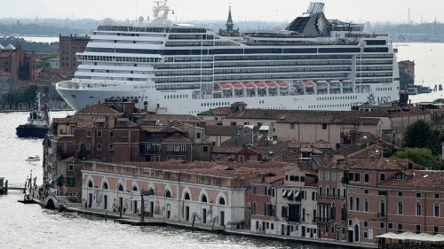 Italy relocating cruise ships from Venice in latest attempt to protect 'fragile' city center