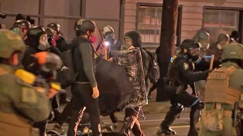 Seattle radio host rips Democrats over Portland riots: 'They created this monster'