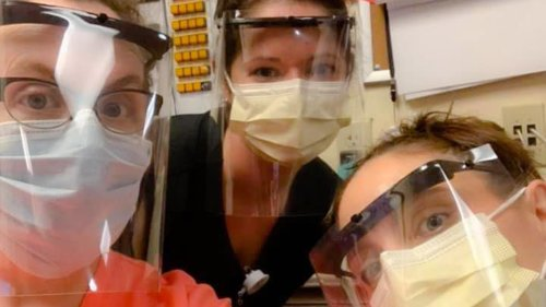 Vermont police trooper uses 3D printer to make face shields for doctors, nurses