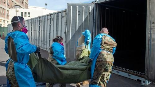 US coronavirus deaths top 400,000 as variants threaten to take hold