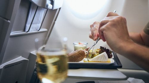 Japanese airline offers in-flight meals on grounded planes: report