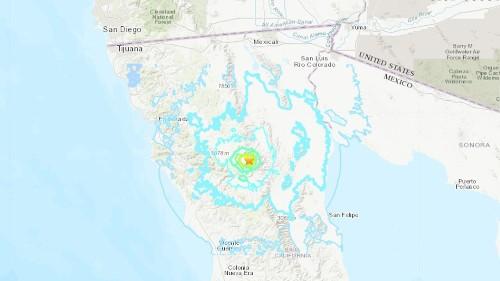 Series of earthquakes rattle Baja California, felt across border in San Diego