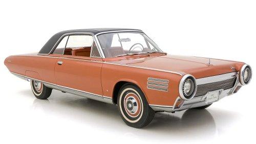 Ultra-rare 1963 Chrysler Turbine car sold to mystery buyer