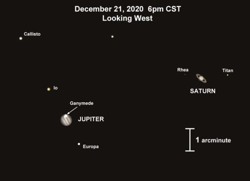 Christmas star is coming: Jupiter and Saturn are about to do something not seen for nearly 800 years