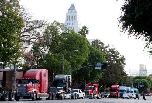 Truckers sue California, say new gig economy law would kill 70,000 jobs