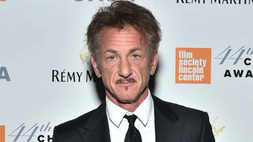 Sean Penn's hair at Golden Globes trends on social media