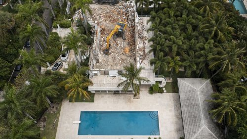 Jeffrey Epstein's Palm Beach estate has been demolished
