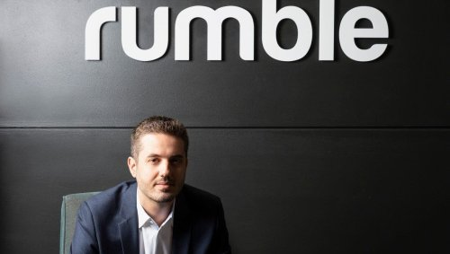 YouTube rival seeing 'tremendous' growth, welcomes users on the 'left or the right,' Rumble CEO says
