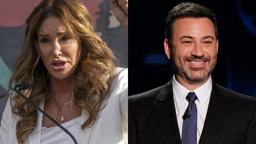 Caitlyn Jenner calls out Jimmy Kimmel after he mocked her candidacy for California governor