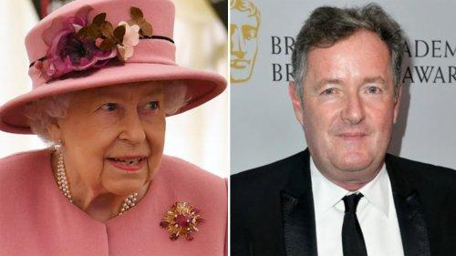 Piers Morgan says it's 'heartbreakingly sad' Queen Elizabeth sat alone at Prince Philip's funeral