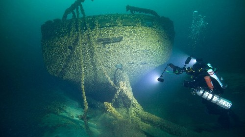 Civil War-era schooners found in Lake Michigan by history buff 140 years after shipwreck