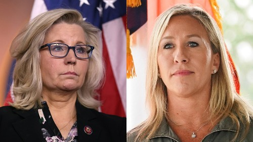 Marjorie Taylor Greene's, Liz Cheney's futures in balance as House GOP gathers for crucial meeting Wednesday