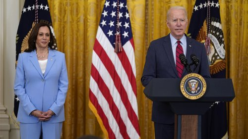 VP Harris reminds Biden about Florida condo collapse in awkward WH moment