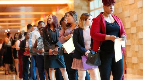 US job openings fall slightly to 7.2M as hiring ticks up