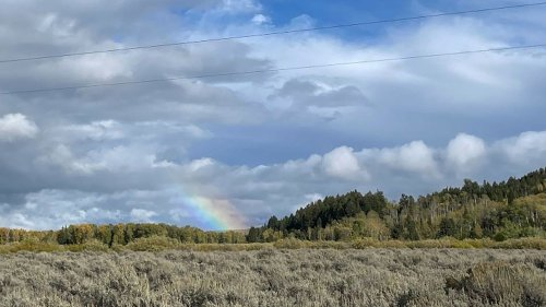Rainbow appears where authorities discovered body believed to be Gabby Petito