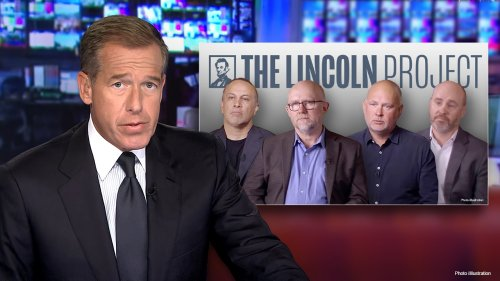 MSNBC's Brian Williams airs ad from disgraced Lincoln Project