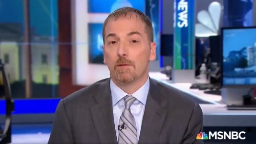 NBC's Chuck Todd trends on Twitter after Daily Show producer claims he is a 'Republican plant'