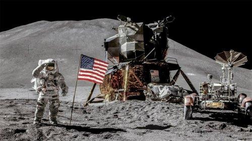 Apollo 15's 50th anniversary: Moon landing seen in stunning detail