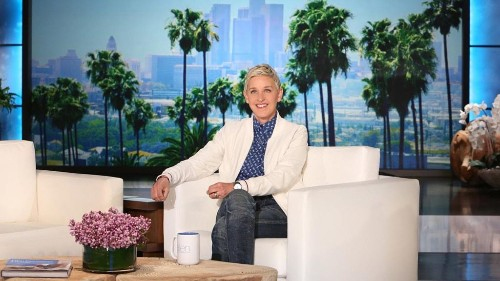Ellen DeGeneres details coronavirus battle in first return to talk show in 2021