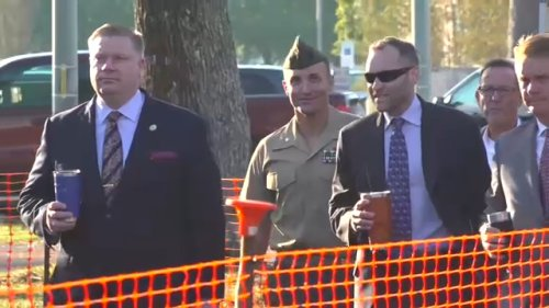 Outspoken US Marine's defense team says guilty plea shows Pentagon what accountability looks like