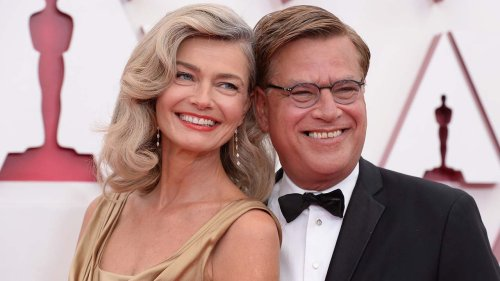 Paulina Porizkova opens up about her new relationship with Aaron Sorkin: 'He's a great kisser'