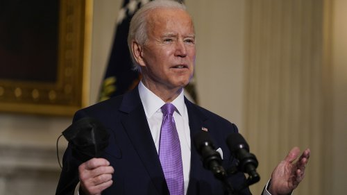 White House cuts virtual event feed after Biden says he's 'happy to take questions' from House Democrats