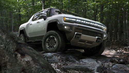 The GMC Hummer EV is a very HEAVY duty electric truck