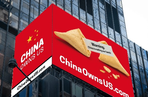 How much of the United States does China really own?