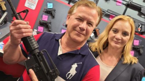 St. Louis couple touts new AR-15 after guns seized over BLM encounter