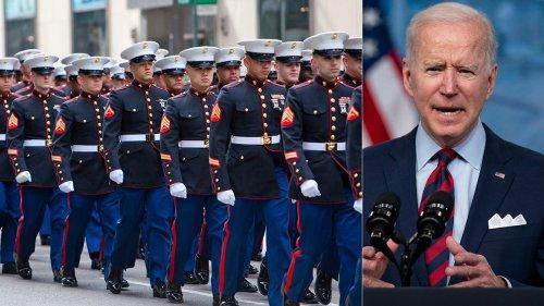 Marines' vaccine hesitancy presents early test for Biden as commander-in-chief