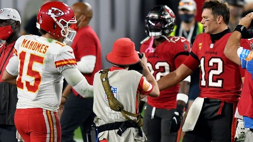Patrick Mahomes needs Super Bowl LV win to catch Tom Brady, Tony Romo says