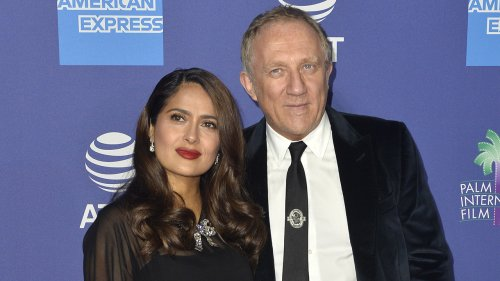 Salma Hayek addresses claims she married her husband François-Henri Pinault for 'money': 'Think what you want'