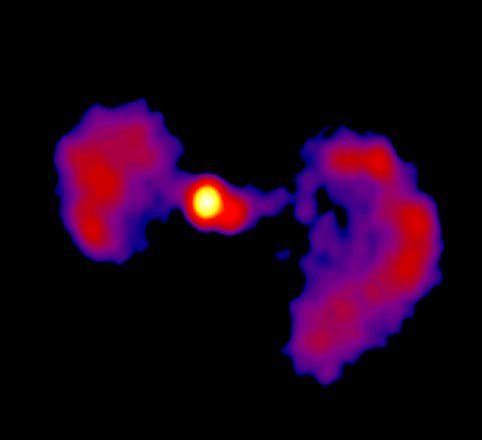 NASA finds active 'Star Wars' galaxy in deep space