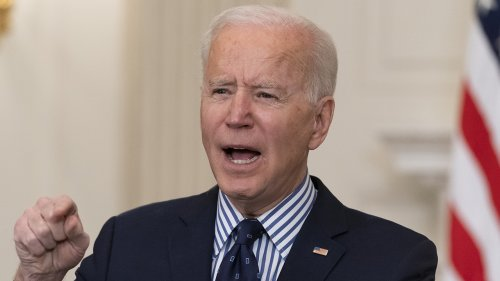 Biden signs voter registration executive order as he pushes Senate to pass sweeping HR 1 bill
