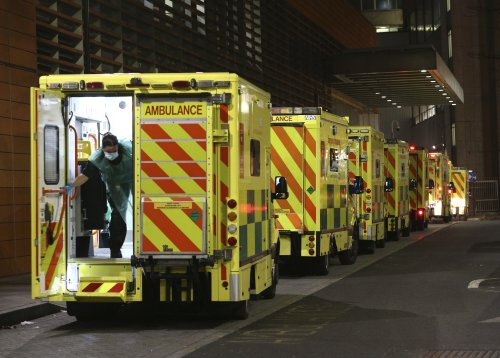 UK may move some coronavirus patients into hotels as hospitals struggle with new strain