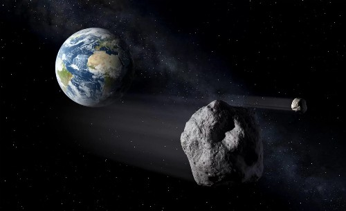 Pickup truck-sized asteroid flew within 2K miles of Earth on Sunday and NASA didn't see it