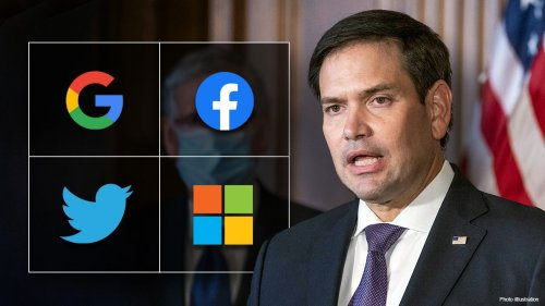 Sen. Rubio on bill targeting Big Tech 'monopolies' over political censorship concerns: 'This can't continue'