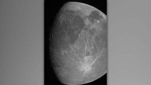 SEE IT: NASA probe takes stunning new shots of Ganymede