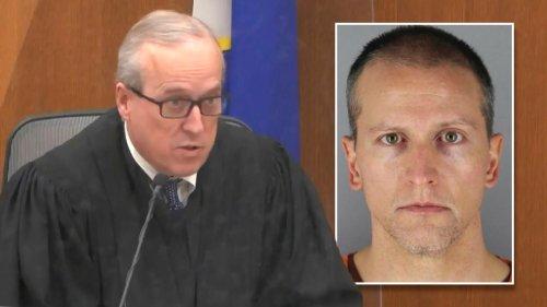 Judge denies Derek Chauvin defense team's acquittal request in George Floyd's death